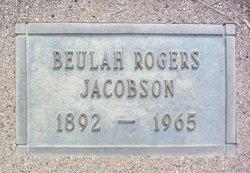 Beulah Euphamia <i>Hill Rogers</i> Jacobson