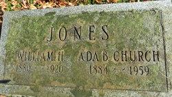 Ada Belle <i>Church</i> Jones