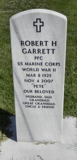 Robert Pete Garrett