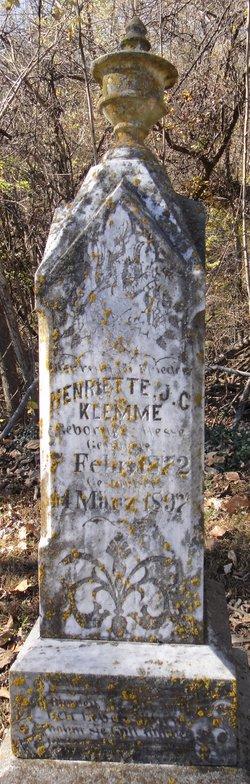 Henrietta <i>Hesse</i> Klemme