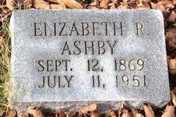 Mary Elizabeth <i>Rideout</i> Ashby