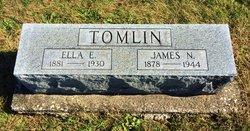 Ella E <i>Rathbun</i> Tomlin