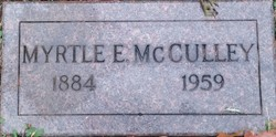 Myrtle <i>Whitney</i> McCulley