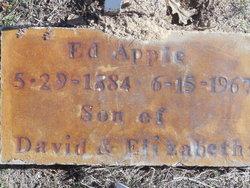 Eddie Ed Apple