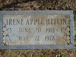 Irene <i>Apple</i> Heflin