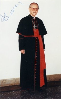 Cardinal Paolo Dezza