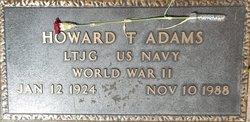 Howard T Adams