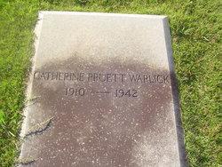 Catherine <i>Pruett</i> Warlick