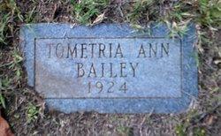 Tometria Ann Bailey
