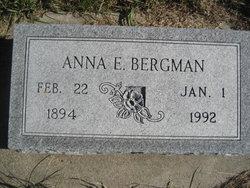 Anna E. <i>Reinke</i> Bergman