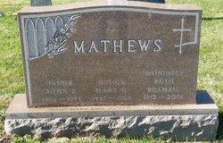 Ruth Olivia <i>Mathews</i> Billman