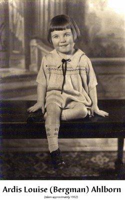 Ardis Louise <i>Bergman</i> Ahlborn