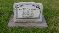 Maurine Allie <i>Yoakum</i> Adams