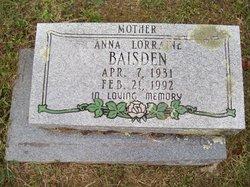 Anna Lorraine Baisden