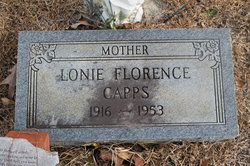Lonie Florence <i>Stanley</i> Capps