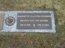 Jeannette <i>Kale</i> Hyleman