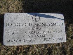 Sgt Harold Dean Moneysmith