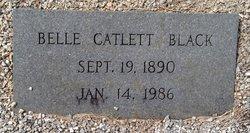 Belle Catlett <i>Crisler</i> Black
