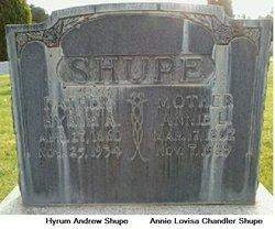 Annie Lovisa <i>Chandler</i> Shupe