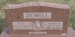 Elmer Frederick Dowell