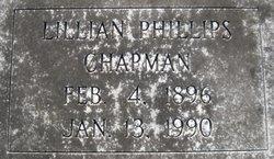 Lillian <i>Phillips</i> Chapman