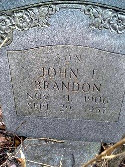 John F Brandon