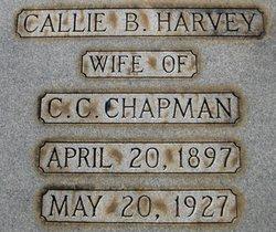 Callie <i>Harvey</i> Chapman