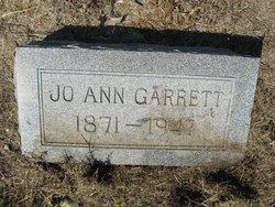 Josephine Jo Anne <i>Butler</i> Garrett