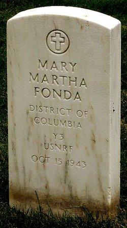 Mary Martha <i>Mondell</i> Fonda
