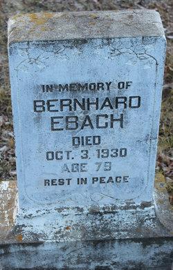Bernhard Ebach