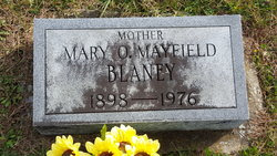 Mary O. <i>Mayfield</i> Blaney