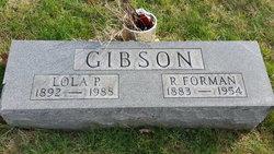 Lola P. <i>Mayfield</i> Gibson