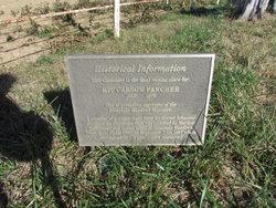 Fancher-Seitz Cemetery