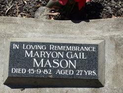 Maryon Gail <i>Buckley</i> Mason