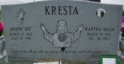 Joe J Kresta