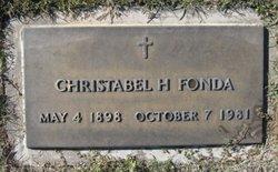 Christabel <i>Hatch</i> Fonda