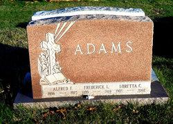 Alfred E Adams