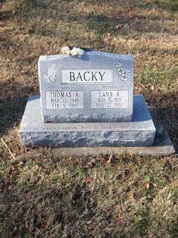 PFC Thomas Alan Backy