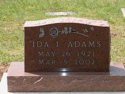 Ida Ione <i>Ashby</i> Adams