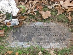 Emily Catherine <i>Reeves</i> Spangler
