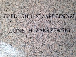 Fred Louis Shots Zakrzewski, Sr