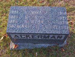 Emma F. <i>MacDuffie</i> Ackerman