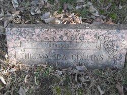 Thelma Ida <i>Branson</i> Collins