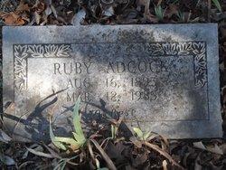 Ruby <i>Wallace</i> Adcock