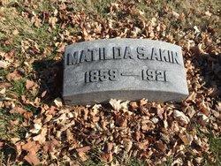 Matilda M. Tillie <i>Schlueter</i> Akin