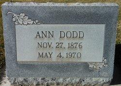 Ann <i>Foster</i> Dodd
