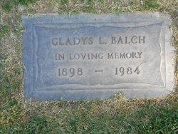 Gladys Ladrone <i>Jackson</i> Balch