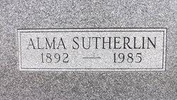 Alma Dolores <i>Sutherlin</i> Hillis