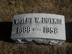 Violet <i>Wall</i> Botkin