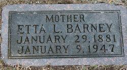 Etta Lillian <i>DeHaven</i> Barney